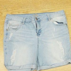 Size 16 girl shorts